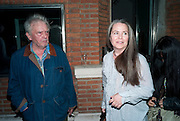 DAVID BAILEY; KOO STARK;, DAVID BAILEY: THEN.-private view of an exhibition of photographs. Hamiltons. London. 6 July 2010. -DO NOT ARCHIVE-© Copyright Photograph by Dafydd Jones. 248 Clapham Rd. London SW9 0PZ. Tel 0207 820 0771. www.dafjones.com.