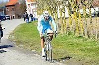 De Vreese Laurens - Astana - 31.03.2015 - Trois jours de La Panne - Etape 01 - De Panne / Zottegem <br /> Photo : Sirotti / Icon Sport<br /> <br />   *** Local Caption ***