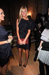 TESS DALY at The Rodial Beautiful Awards in aid of the charity Kids Company held in the Billiard Room at The Sanderson, 50 Berners Street, London on 3rd February 2010.