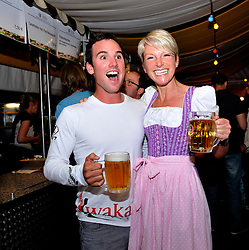 Phil Robertson joins the guests at Match Race goes Lederhose und Dirndl. Photo:Chris Davies/WMRT