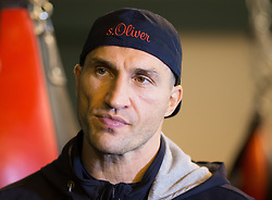 13.11.2015, Stanglwirt, Going, AUT, Wladimir Klitschko, Training, Kampfvorbereitung gegen Tyson Fury (GBR), im Bild Wladimir Klitschko // Wladimir Klitschko during a training session in front of his Fight against Tyson Fury (GBR) at the Stanglwirt in Going, Austria on 2015/11/13. EXPA Pictures © 2015, PhotoCredit: EXPA/ Johann Groder