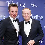 NLD/Amsterdam/20151011 - Inloop premiere De Tweeling, Frits Huffnagel en ......