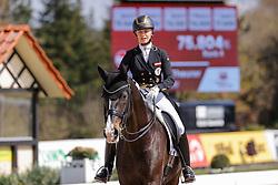 HAGEN a.T.W. - Horses and Dreams meets Japan Sports Edition 2021<br /> <br /> MAX-THEURER Victoria (AUT), Abegglen Fh Nrw<br /> CDI 4* Grand Prix<br /> Qualifikation für Grand Prix Special<br /> Preis des Gestütes Vorwerk<br /> <br /> Hagen a.T.W., Hof Kasselmann<br /> 23. April 2021<br /> © www.sportfotos-lafrentz.de/Stefan Lafrentz