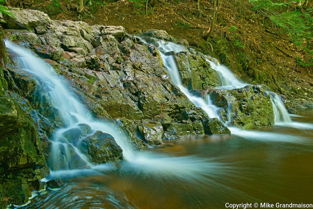 McQuade Brook at Melanson Falls, Near Moncton, New Brunswick, Canada