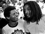 Don Taylor with Junior Mervin