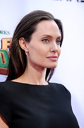 Angelina Jolie attends the Premiere of 20th Century Fox's 'Kung Fu Panda 3' at TCL Chinese Theatre on January 16, 2016 in Los Angeles, CA, USA. Photo by Lionel Hahn/ABACAPRESS.COM
