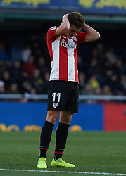 January 20, 2019 - Villarreal, Castellon, Spain - Inigo Cordoba of Athletic Club de Bilbao reacts during the La Liga Santander match between Villarreal and Athletic Club de Bilbao at La Ceramica Stadium on Jenuary 20, 2019 in Vila-real, Spain. (Credit Image: © Maria Jose Segovia/NurPhoto via ZUMA Press)