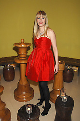 EDITH BOWMAN at 'Not Another Burns Night' in association with CLIC Sargebt and Children's Hospice Association Scotland held at ST.Martins Lane Hotel, London on 3rd March 2008.<br /><br />NON EXCLUSIVE - WORLD RIGHTS