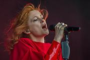 Goldfrapp plays the Obelisk Stage - The 2017 Latitude Festival, Henham Park. Suffolk 14 July 2017