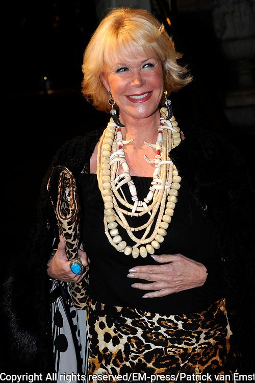 Uitreiking Beau Monde Awards in het Amstel Hotel, Amsterdam.<br /> <br /> Op de foto: Sheila de Vries