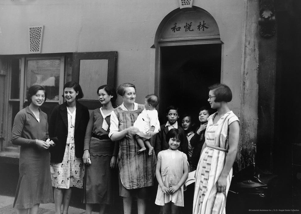 Chinese-English Family, London, 1934