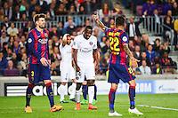 Deception Blaise MATUIDI - 21.04.2015 - Barcelone / Paris Saint Germain - 1/4Finale Retour Champions League<br />Photo : Dave Winter / Icon Sport