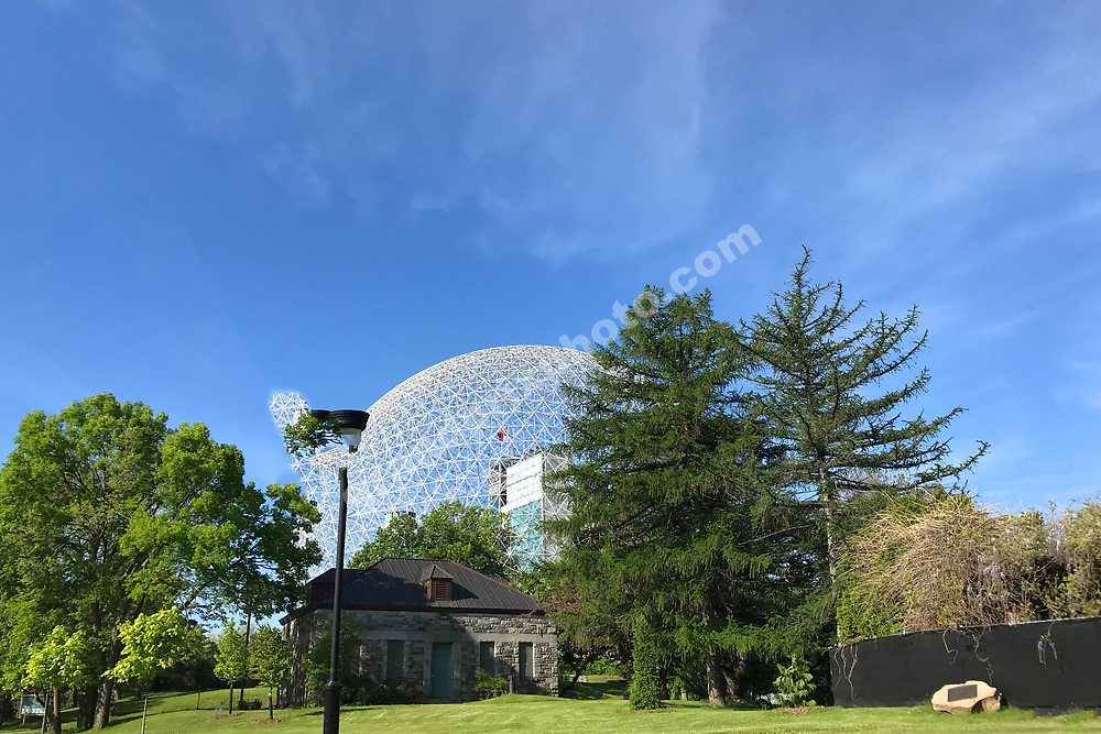 La Ronde and blue skies before the 2019 Canadian Grand Prix in Montreal. Photo: Grand Prix Photo