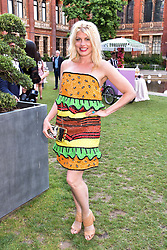 Meredith Ostrom at the Victoria & Albert Museum's Summer Party in partnership with Harrods at The V&A Museum, Exhibition Road, London, England. 20 June 2018.