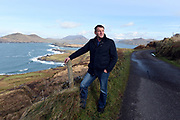 """Farming Feature: Pat O'Driscoll, Chairman, IFA, Kerry pictured on Valentia ISland in County Kerry.<br /> Photo: Don MacMonagle<br /> Story by Majella O""""Sullivan"""