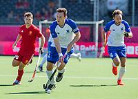 ANTWERPEN -  Scotland-England . Belfius Eurohockey Championship (men) hockey. Alan Forsyth (C)    COPYRIGHT KOEN SUYK