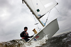 © Sander van der Borch. Braassemermeer, Roelofarendsveen. Practice day dutch Optimist jeugd- en kernploeg (7 march 2009).