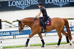 Dufour Cathrine, DEN, Atterupgaards Cassidy<br /> EC Rotterdam 2019<br /> © Hippo Foto - Sharon Vandeput<br /> 18/08/19