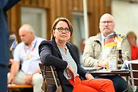 DEU, Deutschland, Germany, Rottenburg, 27.07.2021: Annette Widmann-Mauz (CDU) beim Wahlkampfauftakt der CDU in Baden-Württemberg im Biergarten beim Haus der Bürgerwache.