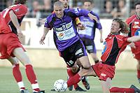 Fotball<br /> Frankrike 2003/04<br /> 2. divisjon<br /> Istres v Valence<br /> 16. mai 2004<br /> Foto: Digitalsport<br /> NORWAY ONLY<br /> <br /> YOHANN RIVIERE (IST) / LUCIANO MAZZINA (VAL)