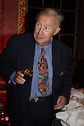SIR TERENCE CONRAN, Perdurity: A Moving Banquet of Time. Royal Salute curates a timeless evening at Hampton Court Palace with Marcos Lutyens, 2 June 2015.