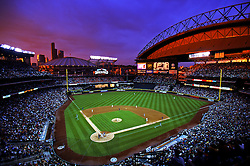 Opening night at Safeco Field, 1999