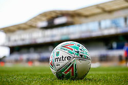 A general view of a Carabao Cup ball at the Memorial Stadium  - Mandatory by-line: Ryan Hiscott/JMP - 14/08/2018 - FOOTBALL - Memorial Stadium - Bristol, England - Bristol Rovers v Crawley Town - Carabao Cup