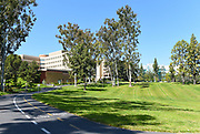 Parkview Classroom Building and Aldrich Park on Campus at the University of California Irvine
