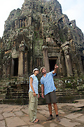 Bayon, Angkor Thom Ruins - Angkor Wat, Cambodia