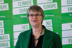© Licensed to London News Pictures. 08/05/2019. London, UK.  MEP Green Party candidate for South West, Molly Scott-Cato at the Green Party European election campaign launch, held at the Candid Arts Trust.  Photo credit: Vickie Flores/LNP