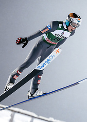 February 8, 2019 - Lahti, Finland - Jan Hörl competes during FIS Ski Jumping World Cup Large Hill Individual Qualification at Lahti Ski Games in Lahti, Finland on 8 February 2019. (Credit Image: © Antti Yrjonen/NurPhoto via ZUMA Press)