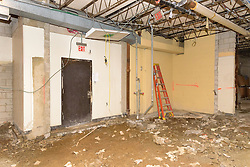 Central High School Bridgeport CT Expansion & Renovate as New. State of CT Project # 015-0174. One of 80 Photographs of Progress Submission 15, 05 May 2016 Gymnasium Demo