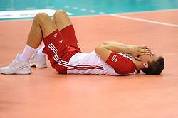 Lukasz Kaczmarek of Poland during the CEV Volleyball European Championship game Poland - Slovenia on August 30, 2017 in Krakow, Poland. (Photo by Krzysztof Porebski / Press Focus)