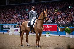 Principe Luis (POR) - World Perfomance Washington<br /> Kur - Reem Acra FEI World Cup Dressage Qualifier - The London International Horse Show Olympia - London 2012<br /> © Hippo Foto - Jon Stroud