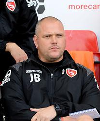 Morecambe Manager Jim Bentley - Mandatory byline: Neil Brookman/JMP - 07966 386802 - 03/10/2015 - FOOTBALL - Globe Arena - Morecambe, England - Morecambe FC v Bristol Rovers - Sky Bet League Two