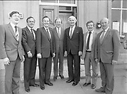 Euro-candidates handing in nomination papers, Cavan Town,<br /> 14th May 1984
