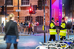 """© Licensed to London News Pictures . 13/12/2019 . Manchester , UK . GV of FAC251 nightclub (also known as """" The Factory """") on Princess Street in Manchester City Centre . Sinaga was living in Montana House and committed many of his offences after finding victims outside nearby clubs . Reynhard Sinaga has been convicted of over a hundred serious sexual assaults , including the rape of dozens of young men whom he lured to his flat from outside nightclubs in Manchester City Centre , making him one of the most prolific sex offenders ever to have been tried and convicted . Photo credit : Joel Goodman/LNP"""