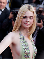 Elle Fanning at the How To Talk To Girls At Parties gala screening at the 70th Cannes Film Festival Sunday 21st May 2017, Cannes, France. Photo credit: Doreen Kennedy