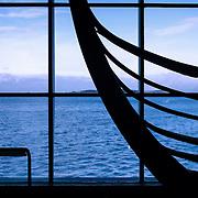 Viking ship bow, Roskilde, Denmark (January 2005)