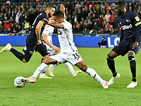 Football - 2018 / 2019 Sky Bet EFL Championship - Swansea City vs. Derby County<br /> <br /> Wayne Routledge Swansea City on the ball, at The Liberty Stadium.<br /> <br /> COLORSPORT/WINSTON BYNORTH