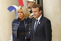 September 15, 2017 - Paris, France, France - Brigitte et Emmanuel Macron (Credit Image: © Panoramic via ZUMA Press)
