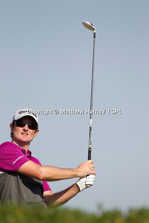 Justin ROSE (ENG) during fourth round,Abu Dhabi HSBC Championship 2013,Abu Dhabi Golf Club,Abu Dhabi,20th January 2013.