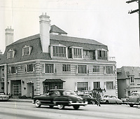1950 Looking east on Sunset Blvd. at the 9100 block