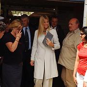 Prinses Maxima Zorrequieta bezoekt het Tam Tam project in Leiden