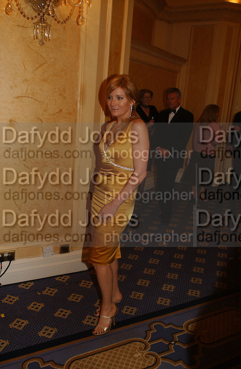 Michelle Collins. Laurence Oliver Awards, Hilton Hotel. 26 February 2006. ONE TIME USE ONLY - DO NOT ARCHIVE  © Copyright Photograph by Dafydd Jones 66 Stockwell Park Rd. London SW9 0DA Tel 020 7733 0108 www.dafjones.com