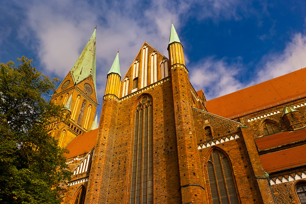 Cathedral (Dom), Schwerin, Mecklenburg-West Pomerania, Germany