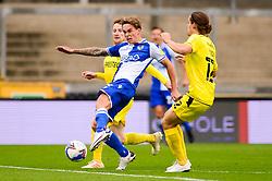 Luke McCormick takes a shot at goal - Mandatory by-line: Dougie Allward/JMP - 17/10/2020 - FOOTBALL - Memorial Stadium - Bristol, England - Bristol Rovers v Burton Albion - Sky Bet League One