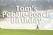 Tom Fenn Birthday Golf at Pebble