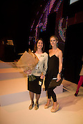 AUDE LESUR;; LAURA BAILEY; . FashionExpo, fashion show and Awards. Business Design Centre, Upper st. London. 19 November 2008.  *** Local Caption *** -DO NOT ARCHIVE -Copyright Photograph by Dafydd Jones. 248 Clapham Rd. London SW9 0PZ. Tel 0207 820 0771. www.dafjones.com