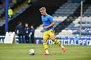Oxford United Forward, Sam Smith (9) during the EFL Sky Bet League 1 match between Portsmouth and Oxford United at Fratton Park, Portsmouth, England on 18 August 2018.